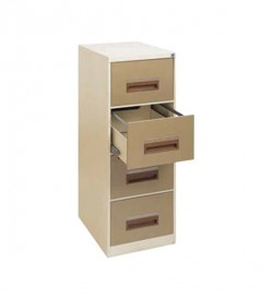 Steel Storage - 4 Drawer Filing Cabinet