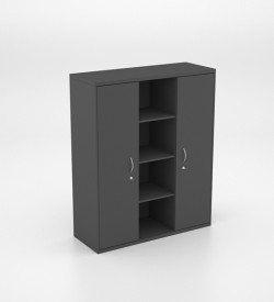Storage - Wall Unit with 2 Full Cupboards and Shelves
