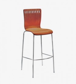 Amarula Bar Stool - Light Imbuia