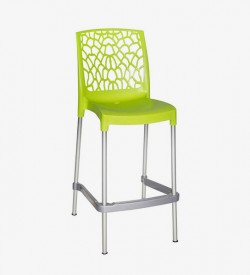 Aracna Bar Stool - Lime Green