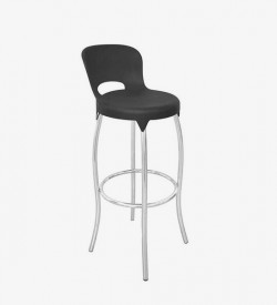 Asteroid Bar Stool - Black