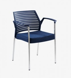 Hall Arm Chair - Dark Blue