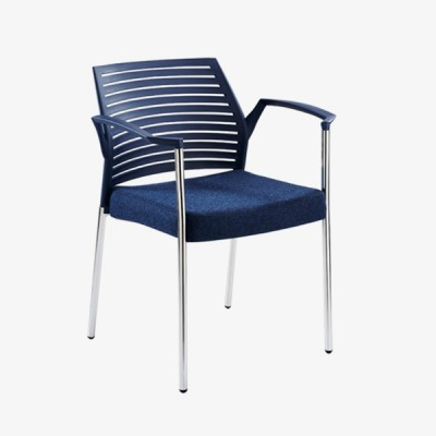Hall Arm Chair – Dark Blue
