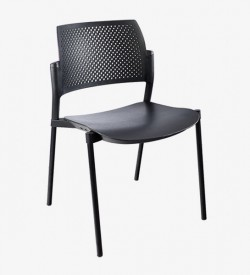 Kyos 4-Legged Side Chair - PU (Unupholstered Seat)