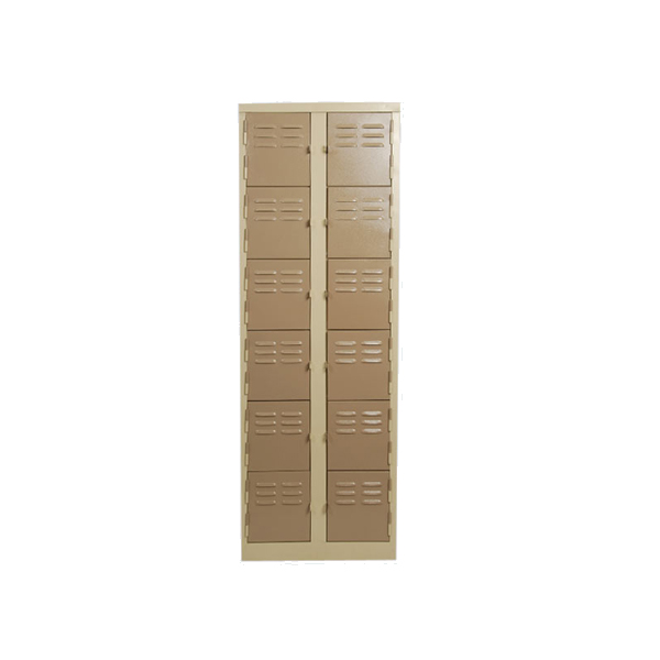 12 Tier Factory Steel Locker (BP25)