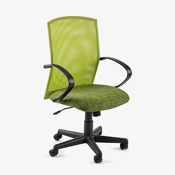 Chronos Mid Mesh Back Operators Chair - Green