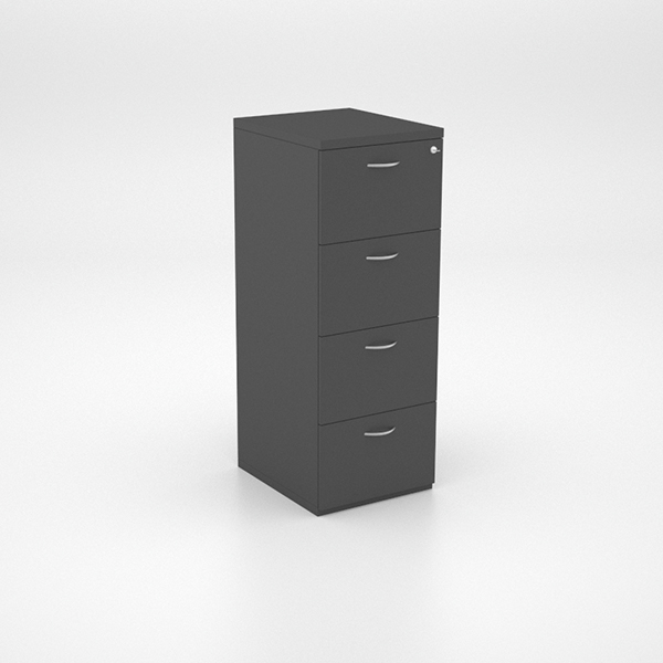 Four Drawer Filing Unit