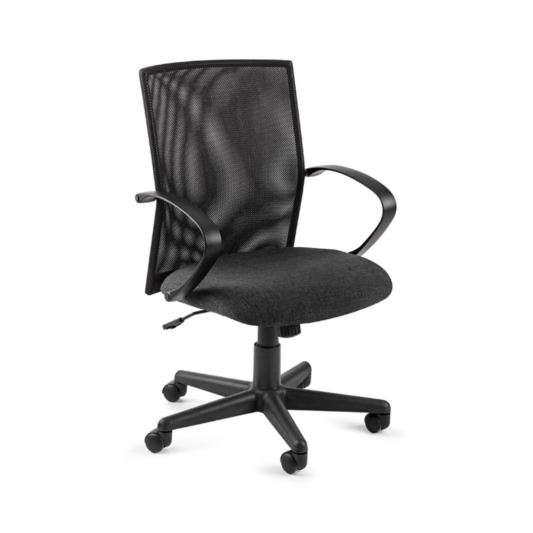 Chronos Meshback Office Chair - Black