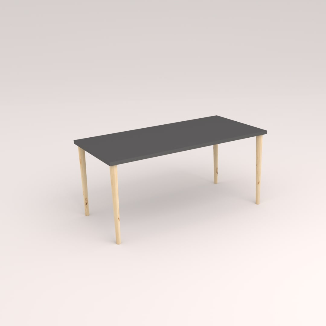 Tapered Leg Desk