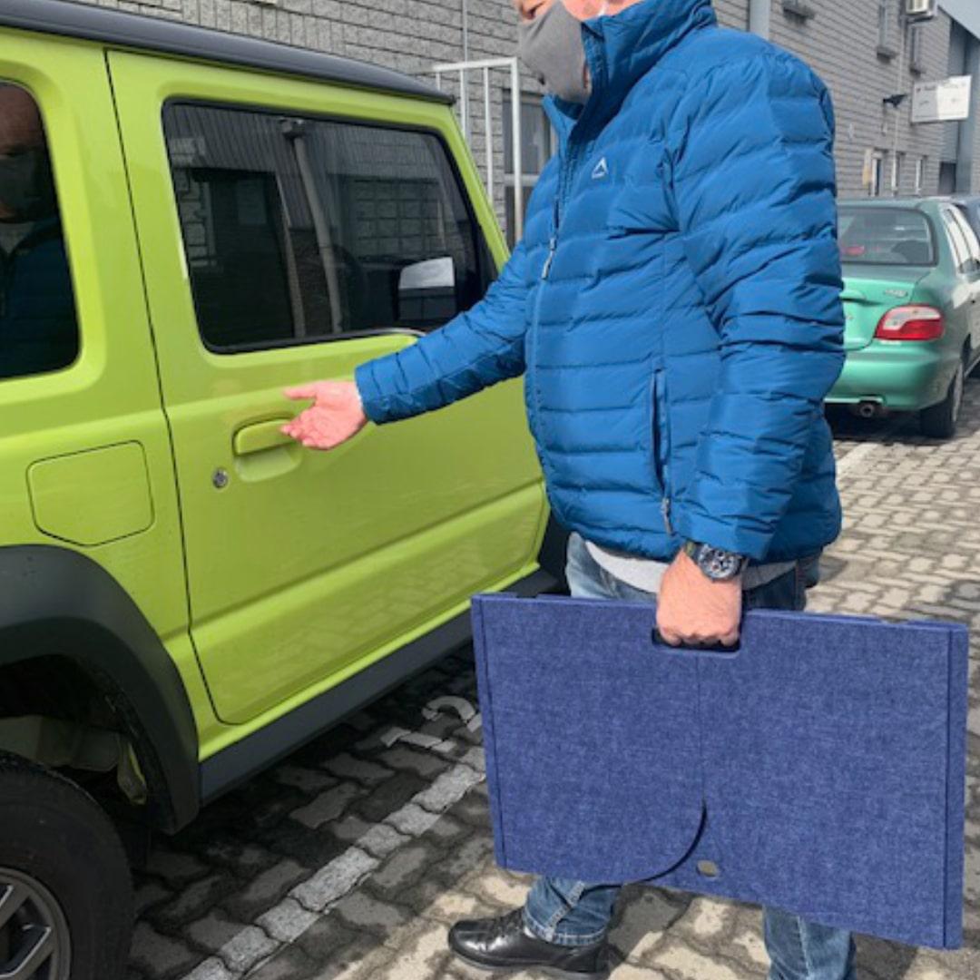 Portable Safety Screen