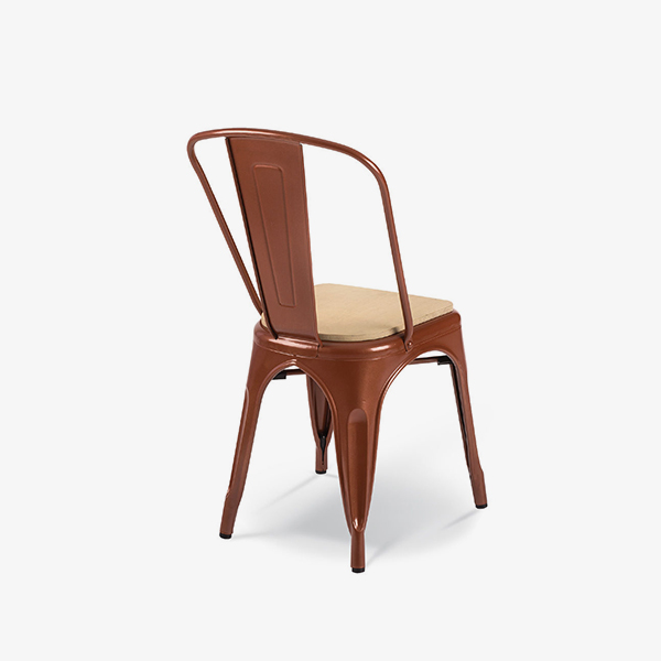 Red Copper with Timber Seat