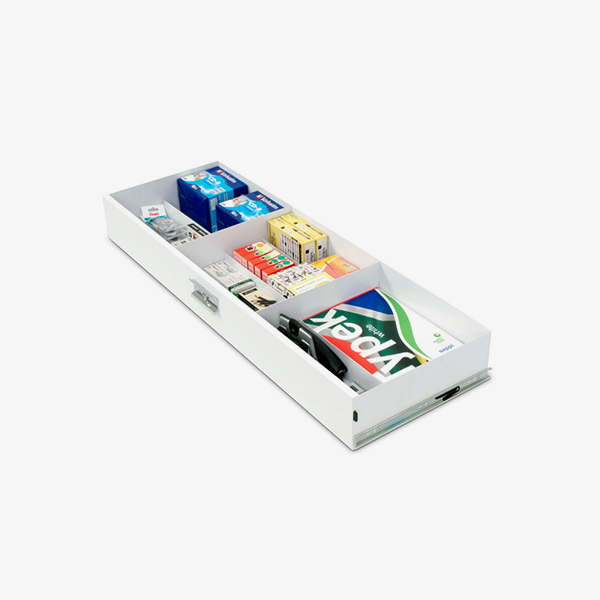 Pull Out Stationary Drawer